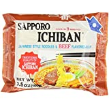 Sapporo Ichiban, Beef, 3.5-Ounce Packages (Pack of 24)