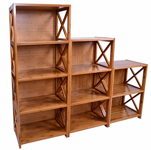 Natural Bamboo 9-Cube Storage Unit (Wall Units Furniture Living Room compare prices)