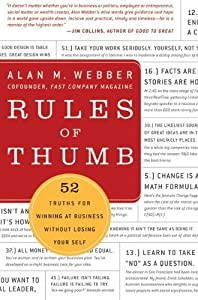 "Cover of ""Rules of Thumb: 52 Truths for W..."