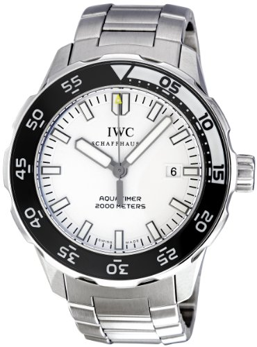 IWC Men's IW356809 Aquatimer White Dial Watch
