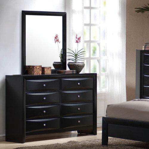 Coaster Furniture 200703 Briana 8 Drawers Dresser in Black 200703