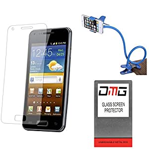 DMG Pack of 7 Tempered Glass for Micromax Canvas Nitro 3 E455 + Flexible Sturdy Long Stand