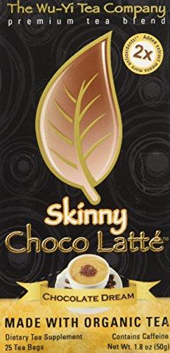 The Wu Yi Tea Company Tea Skny Latte Choc Dream, 25-Count