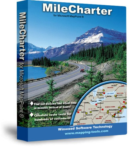 MileCharter Mileage Calculator Software (MapPoint Add On)