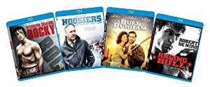 The Ultimate Sports Blu-ray Bundle (Rocky, Bull Durham, Raging Bull, Hoosiers)