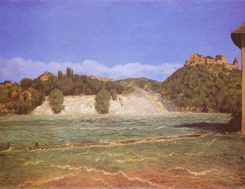 Hans Thoma (Rhine Falls near Schaffhausen)
