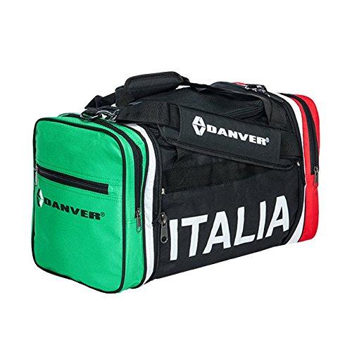 Danver Italia Small Borsone Sportivo, Nero, 35 l