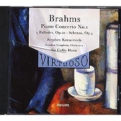 Piano Concerto No.1 (Kovecevich/Lso/Davis)