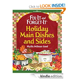 Fix-It and Forget-It Holiday Main Dishes and Sides