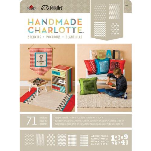 FolkArt Handmade Charlotte Paper Stencils, 4368 Patterns (Quilt Stencil Patterns compare prices)