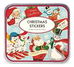 Cavallini Decorative Stickers Christmas, Assorted