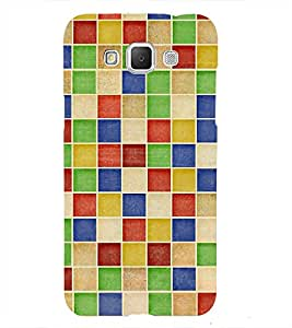 Checks In Multi COLOUR Pattern 3D Hard Polycarbonate Designer Back Case Cover for Samsung Galaxy Grand 3