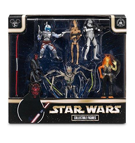 Disney-Star-Wars-Exlusive-Prequel-Set-Villians-Figurine-Playset-Darth-Maul-General-Grevious