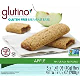 Glutino Gluten Free Breakfast Bars, Apple, 7.05 Ounce (Pack Of 12)