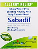 Boiron Homeopathic Medicine Sabadil Tablets for Hay Fever and...