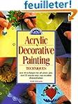 Acrylic Decorative Painting Technique...