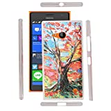 FUSON PREMIUM UV PRINTED DESIGNER SILICON BACK CASE COVER FOR NOKIA LUMIA 730 DUAL SIM - UV35