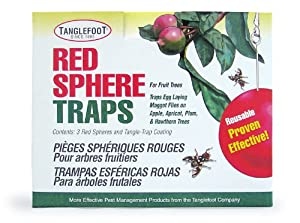Tanglefoot 300000670 Red Sphere Trap