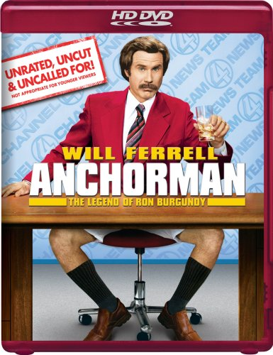 Cover art for  Anchorman: The Legend of Ron Burgundy (Unrated DVD Version) [HD DVD]