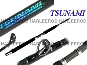"Tsunami saltwater fishing rod Heavy Conventional 6'6"" TSTBC-661H by Tsunami"