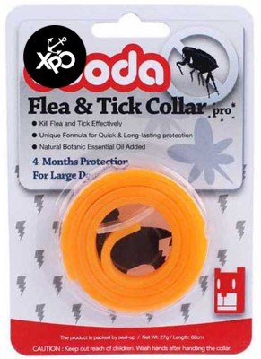 XPO Flea Tick Orange Dog Anti Collar