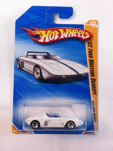 Hot Wheels 2010 New Models '62 Ford Mustang Concept 28/44