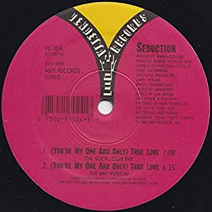 (You're my one and only) true love (US, New York House Mix) [Vinyl Single]