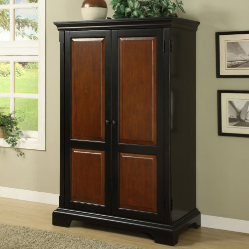 Buy Low Price Comfortable Riverside Bridgeport Computer Armoire – 7185 (B004MZV9GI)