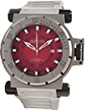 Invicta 11700 Coalition Force Burgundy Dial Automatic Titanium Men's Watch