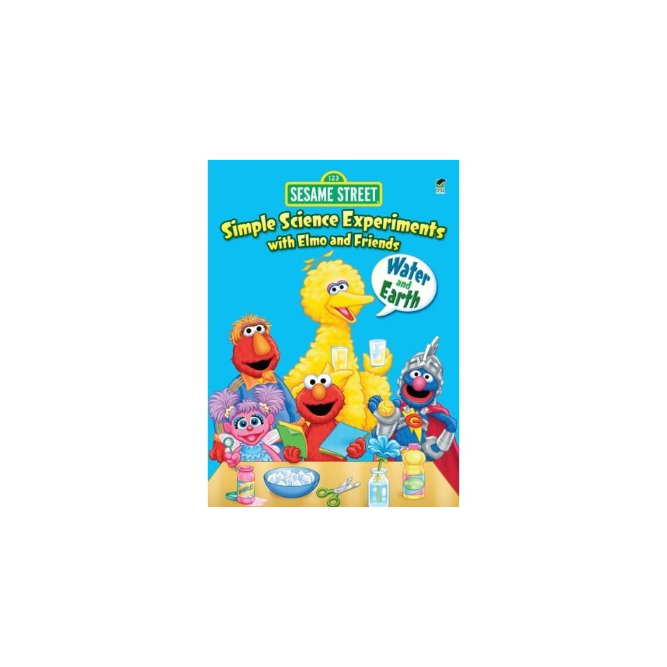 Water and Earth (Sesame Street Activ [Paperback] Gina Gold