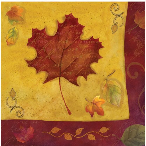 Autumn Reverie Luncheon Napkins - 1