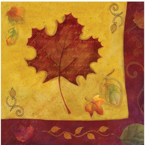 Autumn Reverie Luncheon Napkins - 1