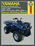 Alan Ahlstrand Yamaha Kodiak and Grizzly ATVs: 2-wheel Drive and 4-wheel Drive 1993 to 2005 (Owners Workshop Manual)