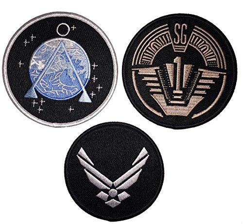 stargate-sg1-set-of-3-main-team-prop-jacket-patches-sg-1earth-logo-usaf