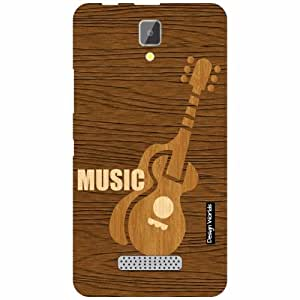 Design Worlds Lenovo A2010 Back Cover - Wood Designer Case and Covers