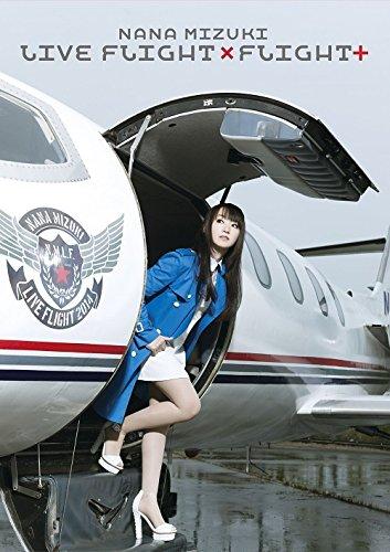 NANA MIZUKI LIVE FLIGHT×FLIGHT+ [DVD] 水樹奈々 水樹奈々 キングレコード