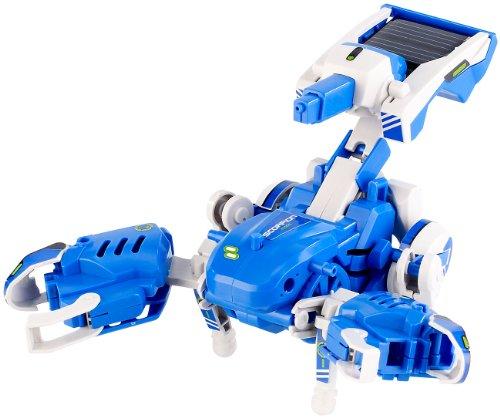 Playtastic Baukasten für 3 transformierbare Solar-Roboter