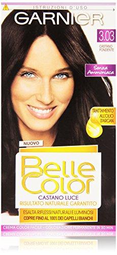 Garnier Garnier Belle Color Luce Colorazione Permanente, 3.03 Castano Fondente