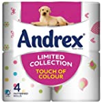 Andrex Touch Of Colour Bathroom Tissu...