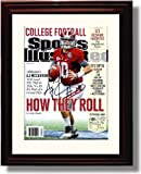 Framed Alabama Football 2012 Sports Illustrated Preview A. J. McCarron Autograph Photo at Amazon.com