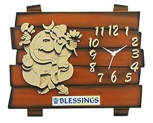 Feelings Café Club Ganesh wall clock