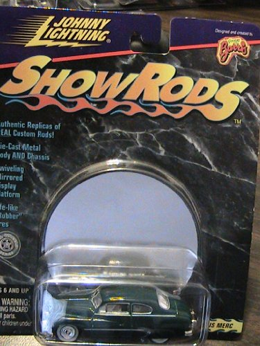 Johnny Lightning ShowRods Sam Barris Merc Collector Car