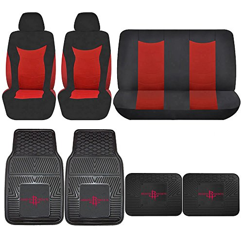 Houston Rockets Car Seat Covers