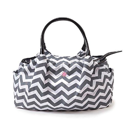 Jp Lizzy Diaper Bag - Chevron Allure
