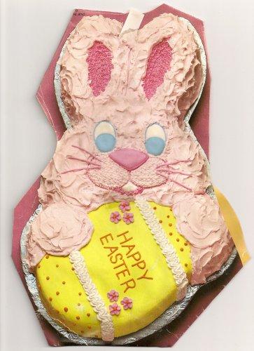 easter bunny cake pattern. wilton easter bunny cake pan.