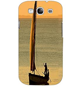 SAMSUNG GALAXY S3 BOAT Back Cover by PRINTSWAG