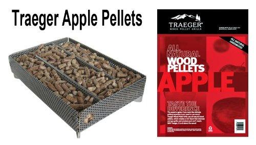 A-Maze-n Pellet Smoker 5x8 with Traeger PEL304 Apple BBQ Pellets, 1 lb. (Traeger Smoker Pellets compare prices)