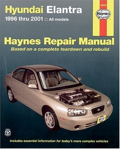 Free audiobook downloads for itunes Hyundai Elantra 1996-2001 (Haynes Manuals) by Chilton 9781563924514 DJVU CHM PDB