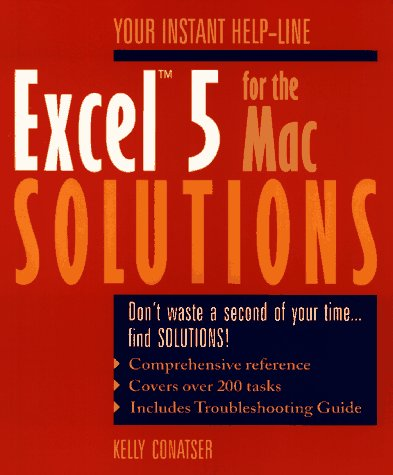 Excel 5 for the Mac Solutions