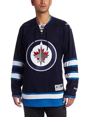 NHL Winnipeg Jets Team Premier Jersey, True Navy, Medium